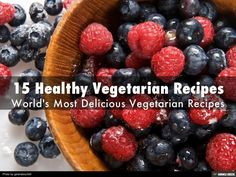 VeggieBasics share 15 most #delicious vegetarian #recipes names. To know more about these delectable recipes!