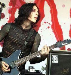 """Ricky """"Horror"""" Olson, guitarist of Motionless of White"""