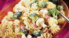 Add pasta to an already popular broccoli, bacon, raisin and sunflower salad, and what do you get? Pasta-bilities!