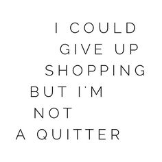 So not a quitter!