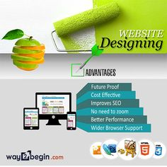 A well design  website is very important to promote your business. #way2begin  designs  extremely impressive and eye catching websites. We are design  #website at very low cost but it has immense response from  the people For more details visit: www:way2begin.com