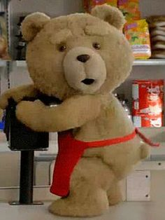 Ted, you are such a NAUGHTY BOY !