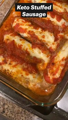 Pork Recipes, Low Carb Recipes, Keto Meal Plan, Clean Eating Recipes, Italian Recipes, Best Keto Diet, Meal Planning, Sausage, Dinner Recipes