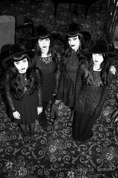 The Black Belles...they are cloning Kerri