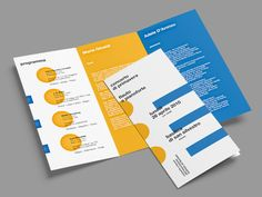 Show off your company, cause or idea with an informative marketing brochure. In this roundup, we feature marketing brochure examples, tips & templates. Brochure Examples, Design Brochure, Creative Brochure, Brochure Layout, Brochure Template, Corporate Brochure, Corporate Design, Event Design, Event Planning Quotes