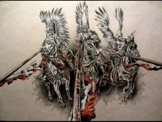 Drawing Husaria - YouTube Slavic Tattoo, Polish Tattoos, Body Art, Inspiration, Drawings, Facebook, Knights, Poland, Youtube