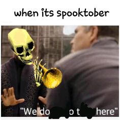 We doot here : dankmemes Spooky Memes, Spooky Scary, Stupid Funny Memes, Hilarious, Funny Stuff, Funny Images, Funny Pictures, Dankest Memes, Skeletons
