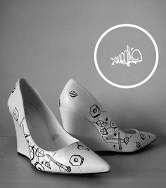 #fashion #highheels #omega-cbu #shoes Omega, Kitten Heels, High Heels, Flats, Shoes, Fashion, Toe Shoes, Moda, Zapatos