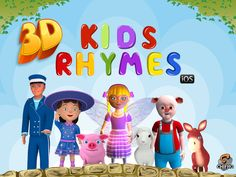 3D #Nursery #Rhymes for #Kids soon to be live on #AppStore – Play & Enjoy with your Kids!