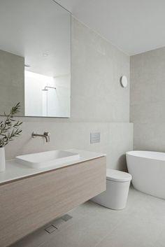 Light Grey Bathrooms, Coastal Bathrooms, Open Plan Bathrooms, Light Bathroom, Master Bathrooms, Dream Bathrooms, Minimalist Bathroom Design, Bathroom Design Luxury, Modern Luxury Bathroom