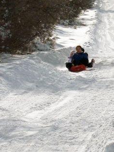 Best Utah County sledding hills
