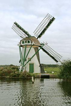 Lakermolen, Warmond, Zuid-Holland