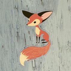 GAMAGO Sly Fox Sticker  $2