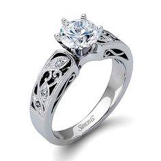 Simon G LP1355 Engagement Ring  $1760