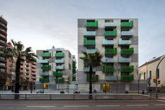 """Santa Madrona"" – 62 Social Dwellings / Pich-Aguilera Architects"