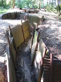 Go and see the WWI trenches in Ypres: there's no better way to engage students in history than to let them see for themselves some of the famous landmarks that have shaped our time. Famous Landmarks, Student Engagement, Travel Tours, Wwi, Garden Bridge, Trips, Students, Outdoor Structures, Adventure