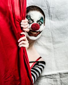 https://flic.kr/p/upbUwE | Clown!!! | A fun shoot with my friend Janine as a…