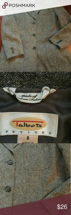 TALBOTS WOOL PANT SUIT Excellent condition! Talbots Pants