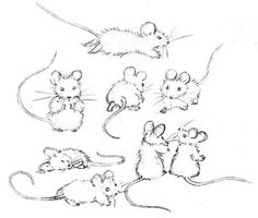 Free tutorial on how to draw a mouse.