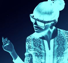 Add Stunning Glow In the Dark FX to your photo using photoshop Actions.