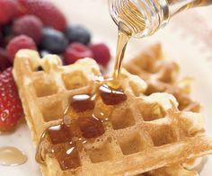 Light, Crisp Waffles Recipe