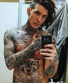 Sketch ... Boy Tattoos, Tattoos For Guys, Tatoos, Sexy Tattooed Men, Tattooed Boys, Jay Hutton, Tattoo Fixers, Man Sketch, Geniale Tattoos