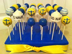 U.S. Navy Popcupz Cake -to order email us popcupz@gmail.com. Follow Popcupz on Instagram and Facebook!!!