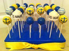 U.S. Navy Popcupz Cake -to order email us popcupz@gmail.com. Follow Popcupz on Instagram and Facebook!!!