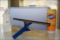 Squeaky Clean Windows-recipe for cleaner technique tips Household Cleaning Tips, Homemade Cleaning Products, Household Cleaners, Cleaning Recipes, Natural Cleaning Products, Cleaning Hacks, Cleaning Supplies, Cleaning Blinds, Cleaning