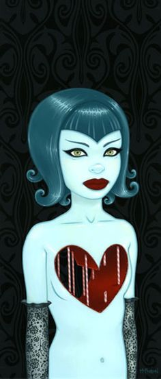 Tara McPherson | ART Paintings Gallery 1 Sometimes I Just Want a Hug