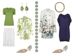 The Vivienne Files: Packing for Special Occasions: A Floral Coat, and Flower Colors