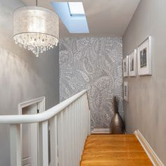 Wallpaper Accent Wall Design Ideas, Pictures, Remodel, and Decor - page 2