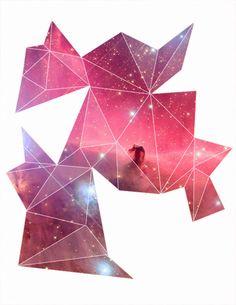 geometric nebulas.