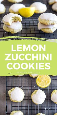 Zucchini cookies that are soft and tender will be all the rage this spring! These cake-like cookies have fresh zucchini, lemons and a secret ingredient that makes them extra special! Zucchini Cookie Recipes, Zucchini Cookies, Easy Meals For Kids, Kids Meals, Yummy Snacks, Yummy Food, Lemon Zucchini, Everyday Food, Good Food