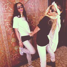Rihanna & Melissa Forde