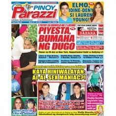Pinoy Parazzi Vol 6 Issue 69 May 27 – 28, 2013 http://www.pinoyparazzi.com/pinoy-parazzi-vol-6-issue-69-may-27-28-2013/