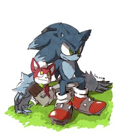 Werehog Sonic and Chip Sonic The Hedgehog, Shadow The Hedgehog, Sonic 3, Sonic And Amy, Kaito, Next Avengers, Sonic Unleashed, Sonic Franchise, Archie Comics