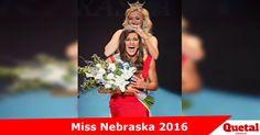 Miss Omaha coronada como Miss Nebraska 2016  Más detalles>> www.quetalomaha.com/?p=4644