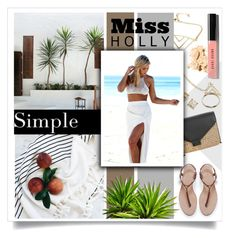 """""""Simple Elegance..Miss Holly"""" by melissa-de-souza ❤ liked on Polyvore"""