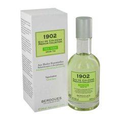 1902 Green Tea Cologne by Berdoues, 100 ml Eau De Cologne Spray for Men
