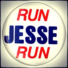 """By the spring and summer of 1983, chants of """"Run, Jesse, Run!"""" could be heard at many of Jesse Jackson's speaking engagements."""