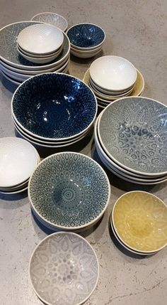 Beautiful ceramics from Bungalow! Loving the eastern twisted pattern!