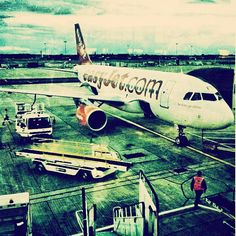 Off to Amsterdam from Gatwick Airport