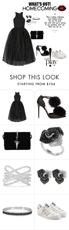 """Untitled #522"" by einatv ❤ liked on Polyvore featuring Elizabeth and James, Jimmy Choo, Cesare Paciotti, Effy Jewelry, adidas Originals and Lime Crime"