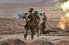 Franklin Badia shoots an Rocket Launcher while Lt. James Lockett (left) and other Soldiers observe the training at Tarnak Range in Kandahar province, Afghanistan, Oct. 4th Infantry Division, Staff Sergeant, Military Pictures, Troops, Soldiers, Whitney Houston, Picture Search, Us Army, Afghanistan