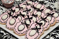 Cameo cookies...too cute