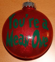 Trendy Ideas for grinch christmas tree ornaments Grinch Christmas Decorations, Grinch Ornaments, Christmas Ornament Crafts, Christmas Love, Diy Christmas Ornaments, Christmas Themes, Christmas Tree Ornaments, Glitter Ornaments, Xmas Trees