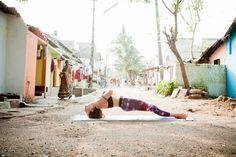 Street Yoga India Setu Bandhasana