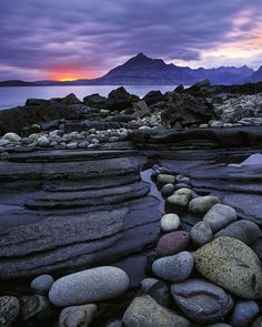 Photogrpaher Ian Cameron has some breathtaking transient light photography on his site. I had to share this beautiful photo. This one is called Elgol Crimson. His work can be seen here.  www.transientlight.co.uk