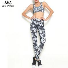 10 Styes New Women Push-up Sporting Leggings Print Fashion Patchwork Elastic Skinny Fitness Leggings Sporting Clothing For Women